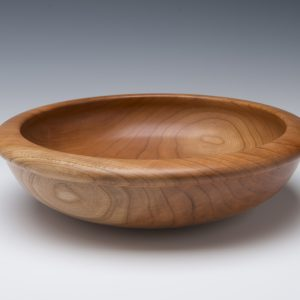 Tuckaway Woodturning Cherry Bowl
