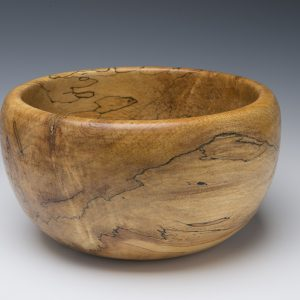 Tuckaway Woodturning Spalted Maple Bowl